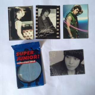Super junior donghae official star collection card photocard