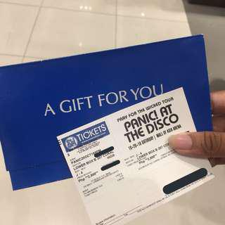Pray For The Wicked Tour MNL Ticket