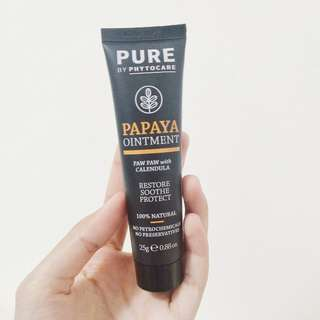 Papaya Ointment Paw Paw with Calendula PURE Phytocare