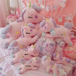 Unicorn Soft Pillow Plush Toy