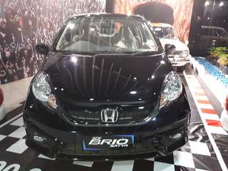 New Honda Brio E-Cvt