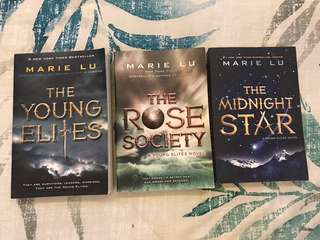 The Young Elites, The Rose Society, The Midnight Sun by Marie Lu