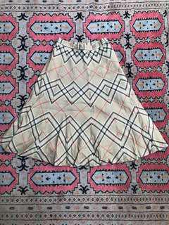 Virgin wool skirt size 27