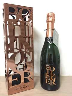 Bollinger Rose 2006 Limited edition metal case rose gold