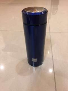 Thermal Flask Approx 300 ml - Metallic Blue Colour