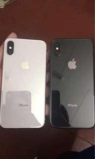 Iphone x 64gig FU