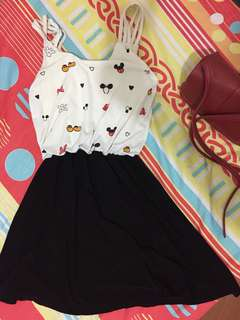 Minnie Mouse Casual Dress