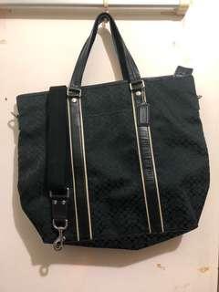 Coach unisex tote bag 手挽袋配揹帶
