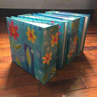 Floral Photo Book (x4)
