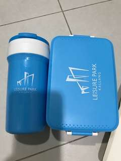 🚚 BN Lunch Box and Tumbler