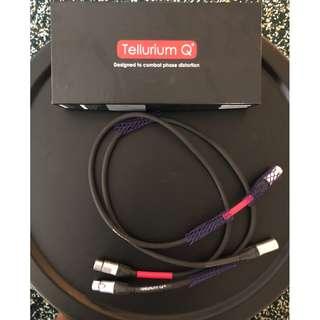 Tellurium Q Black XLR