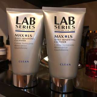 ♨️BUNDLE DEALS: 2x LAB SERIES MAX LS DAILY RENEWING CLEANSER FACIAL WASH