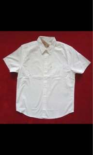 LEVI'S Short Sleeve White Polo for Men (ORIGINAL)