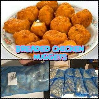 BREADED CHICKEN NUGGETS 1 KILO