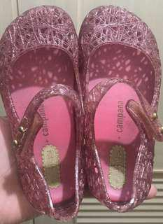 Repriced Mini Melissa S8 HTF Clear Pink Campana