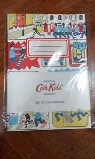 Authentic Cath Kidston Lined notebook. Set of 2.