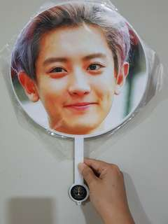 EXO Chanyeol hand fan