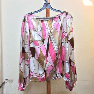 BODY AND SOUL Silk Top
