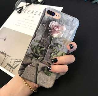 3D Rose Case