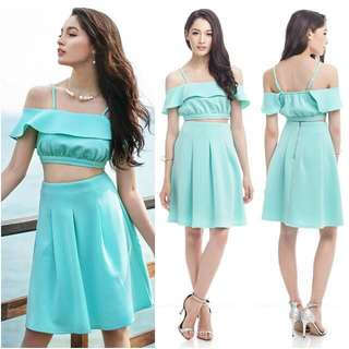 TCL ritz season skirt in mint
