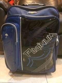 Swan Platinum School Bag with Trolley