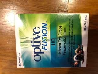 BNIB Optive Fusion lubricant eyedrops