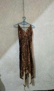 Sexy Leopard print dress M
