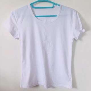 🚚 全白純色上衣