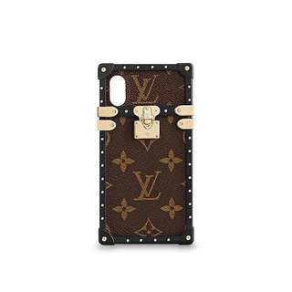 Wanted! Louis Vuitton Eye Trunk for iPhone X Monogram Canvas