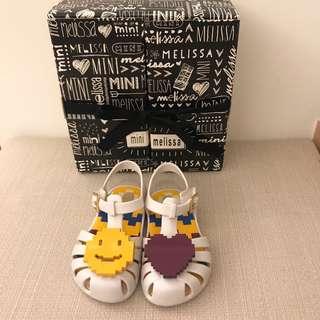 🚚 九成新Mini Melisa香香鞋 不對稱款 14cm