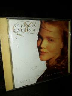 Belinda carlisle English cd