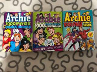 Archie comics 1000pages