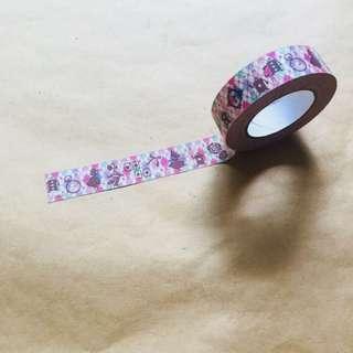 Whimsical Alice In Wonderland Tape