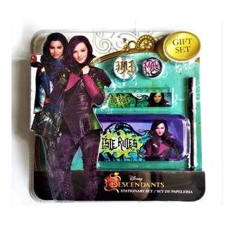 全新 迪士尼Disney Descendants  Stationary gift set 文具禮品套裝