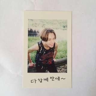 SVT Seventeen Mansae official photocard - vernon