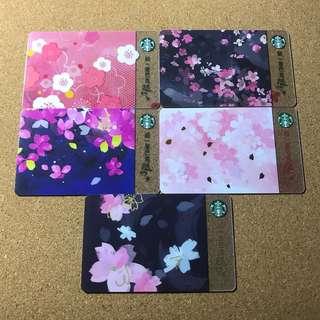 🚚 Taiwan Starbucks Sakura Card