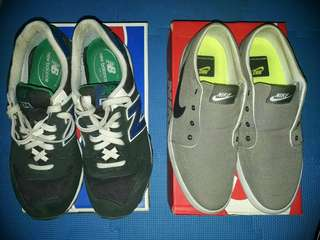 NIKE Futslide Slip AND NEW BALANCE 574 | SOLD AS PACK