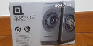 Quatro 2 speakers BNIB can nego