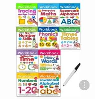 Wipe Clean Workbooks