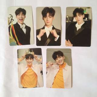 ASTRO Eunwoo official photocard set