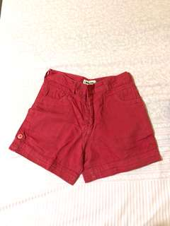 MARSHALL RED HOTPANTS