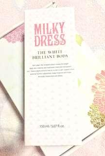 Milky Dress - The White Brilliant Body