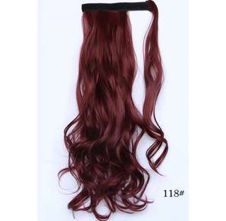 Hair wig ponytail clip