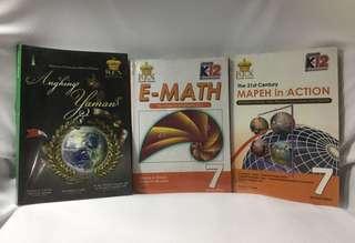 Grade 7 books