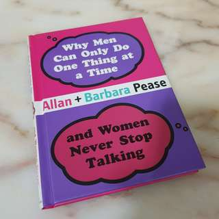 🚚 Why Men can only do one thing at a time and women never stop talking, Allan & Barbara Pease