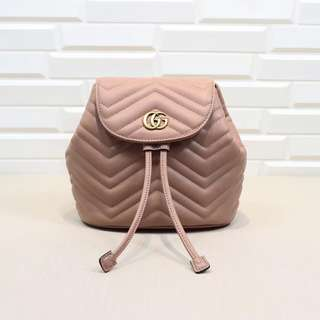 Gucci marmont backpack