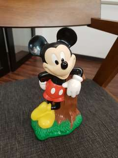 Original Mickey Mouse piggy bank
