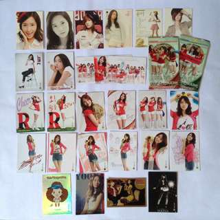 SNSD Yoona official star collection card group tag taeyeon rare normal season 1, 2 and 2.5