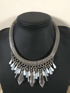 Crystal costume necklace