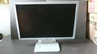 "Computer Mon AOC 193FW Wide LCD Display 19"" Wide LCD Screen monitor TV"